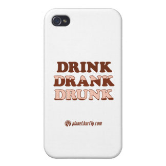 Drink Drank Drunk iPhone 4 Cases