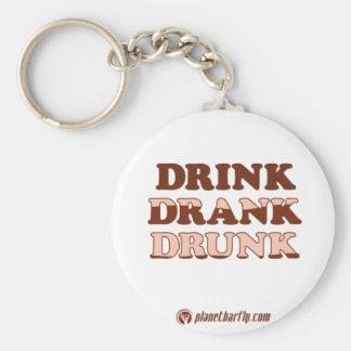 Drink Drank Drunk Keychain