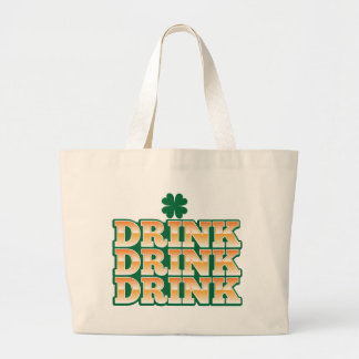 DRINK DRINK DRINK  from The Beer Shop Large Tote Bag