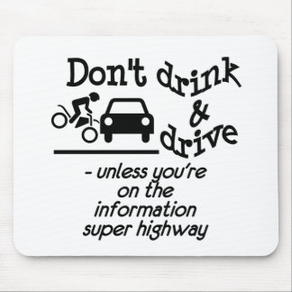 Drink & Drive mousepad