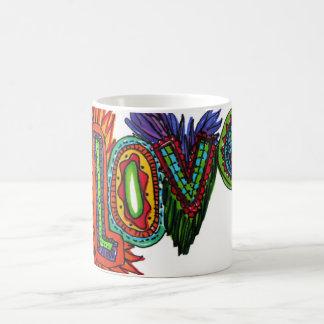 Drink from LOVE:. Classic White Coffee Mug