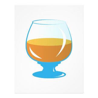 Drink Glass Customized Letterhead