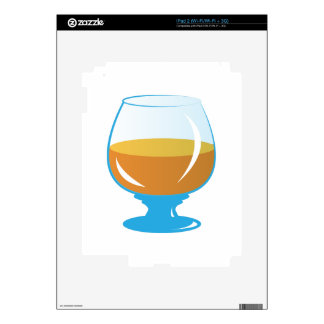 Drink Glass Decals For iPad 2