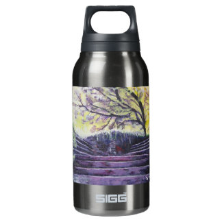 Drink Happy 10 Oz Insulated SIGG Thermos Water Bottle
