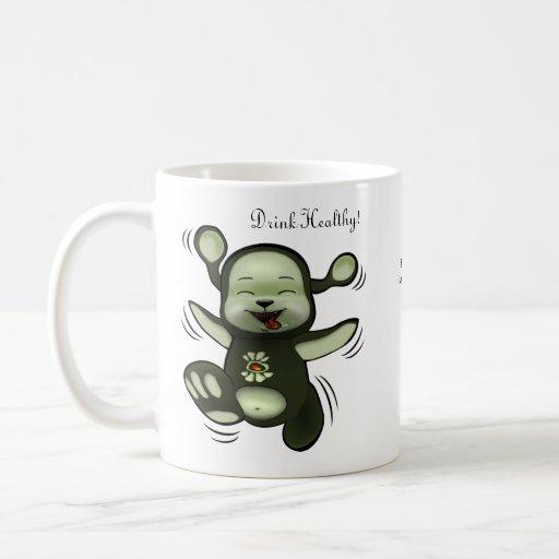 """Drink Healthy""- Mug by Nanofa"