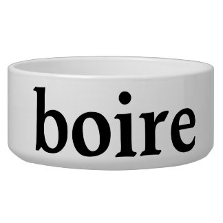 drink in french bowl