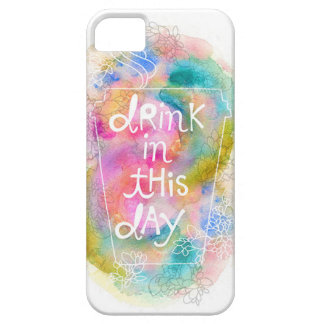 Drink In This Day iPhone Case by stephanie corfee iPhone 5 Cover