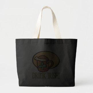 Drink Irish Tote Bag
