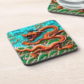 Drink like a Dragon. Beverage Coasters