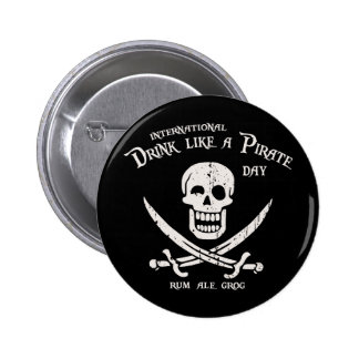 Drink Like a Pirate Button