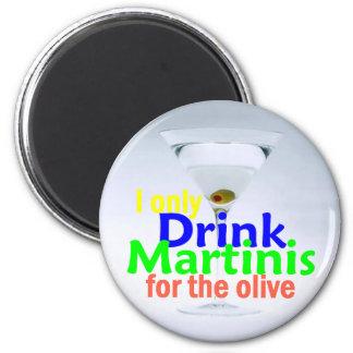 Drink MARTINIS Magnet