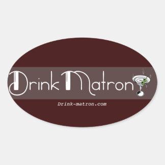 Drink Matron Stickers