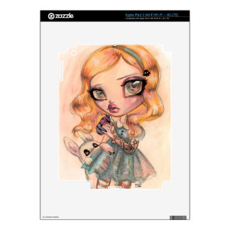 Drink Me - Alice in Wonderland by Natasha Wescoat iPad 3 Skins