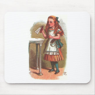 Drink Me!  Alice in Wonderland Mouse Pad