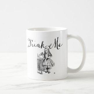 Drink Me Alice in Wonderland Mug