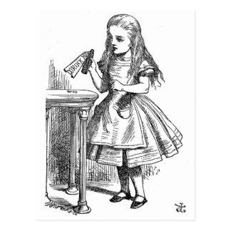 Drink Me (Alice in Wonderland) Postcard