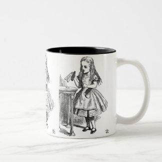 Drink Me (Alice in Wonderland) Two-Tone Coffee Mug