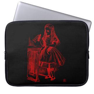 Drink Me (Alice) Laptop Sleeves