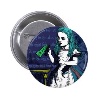 Drink Me Button Pinback Buttons