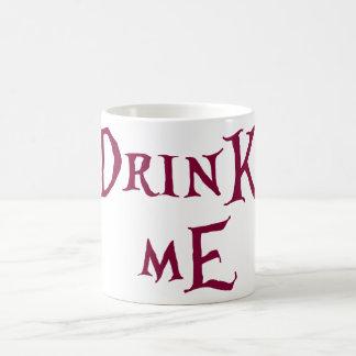 drink me coffee mug