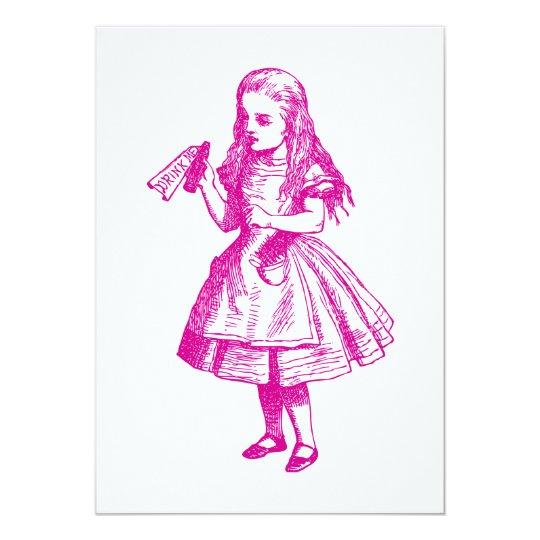 Drink Me Inked Pink Card