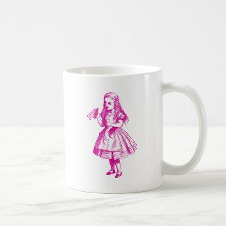 Drink Me Inked Pink Coffee Mug