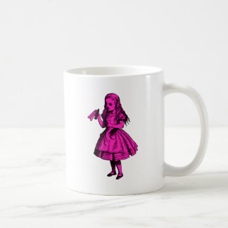 Drink Me Inked Pink Fill Coffee Mug