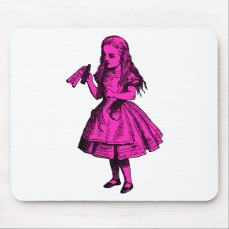 Drink Me Inked Pink Fill Mouse Pad