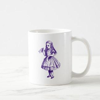 Drink Me Inked Purple Coffee Mug