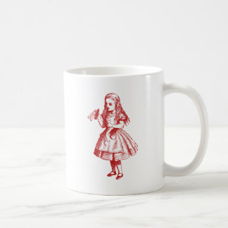 Drink Me Inked Red Coffee Mug
