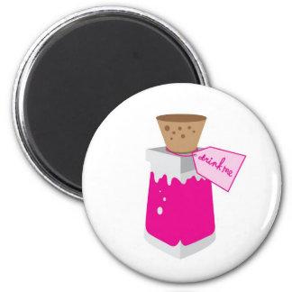 Drink Me Jar Alice in Wonderland Magnet