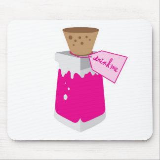 Drink Me Jar Alice in Wonderland Mousepad