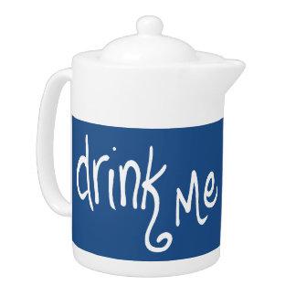 Drink Me (marine-rev) Teapot