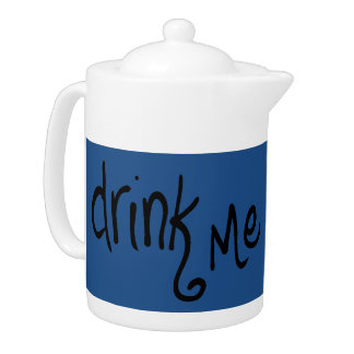 Drink Me (marine) Teapot