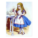 """Drink Me"" Potion with Alice Postcard"