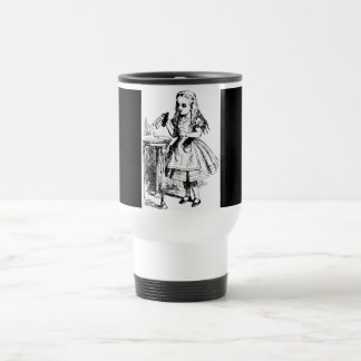 Drink Me Themed Alice in Wonderland Travel Mug Stainless Steel Travel Mug