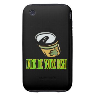Drink Me Your Irish Tough iPhone 3 Cover