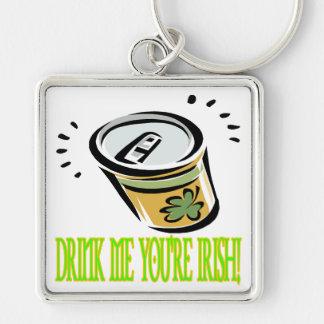 Drink Me Your Irish Keychain