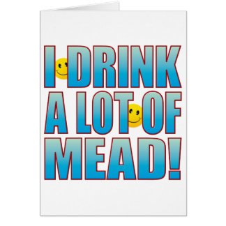 Drink Mead Life B Card