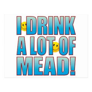 Drink Mead Life B Postcard