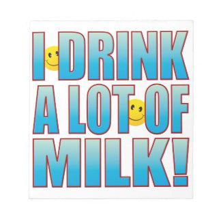Drink Milk Life B Notepad