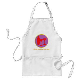 Drink Mixin Merit Badge Adult Apron