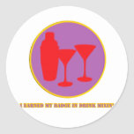 Drink Mixin Merit Badge Stickers