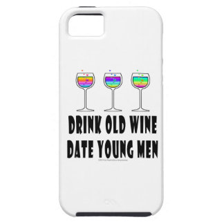 DRINK OLD WINE - DATE YOUNG MEN iPhone SE/5/5s CASE