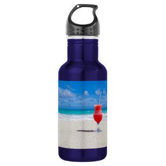 Drink On Beach Water Bottle
