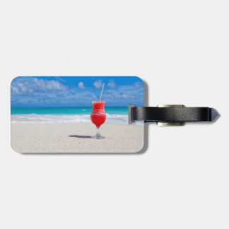 Drink on the Beach Tag For Bags