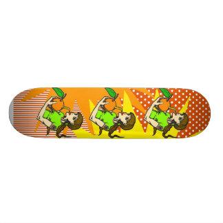 Drink Orange Juice Custom Skateboard