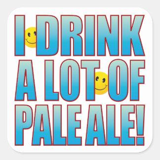 Drink Pale Ale Life B Square Sticker