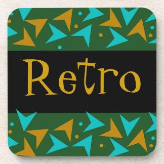 Drink Retro Style Boomerang Galaxy Coaster Vintage