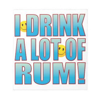 Drink Rum Life B Note Pad